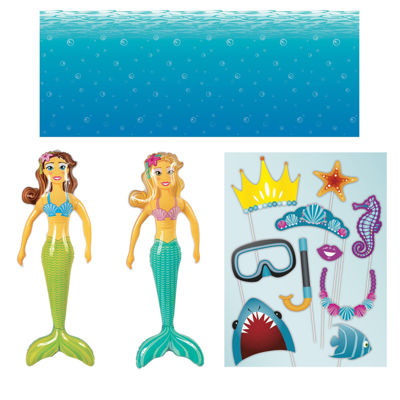 Mermaids Inflatable Prop Kit