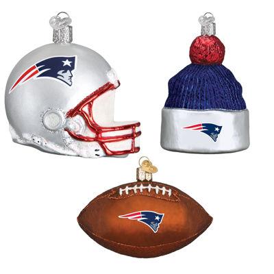 New England Patriots Christmas Ornaments (3)