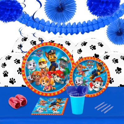Paw Patrol Boy 16 Guest Tableware & Decoration Kit