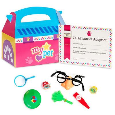 Pink Pet Carrier & Pinata Toys