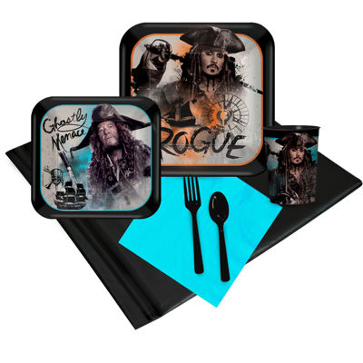 Pirates of the Caribbean 16 Guest Party Pack PlusMolded Cups