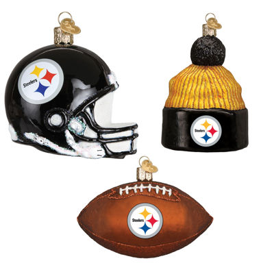 Pittsburgh Steelers Christmas Ornaments (3)