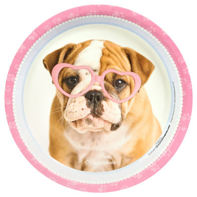 Rachael Hale Glamour Dogs - Dinner Plate