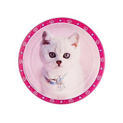 Rachaelhale Glamour Cats - Dessert Plate