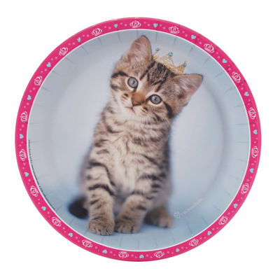 Rachaelhale Glamour Cats - Dinner Plate