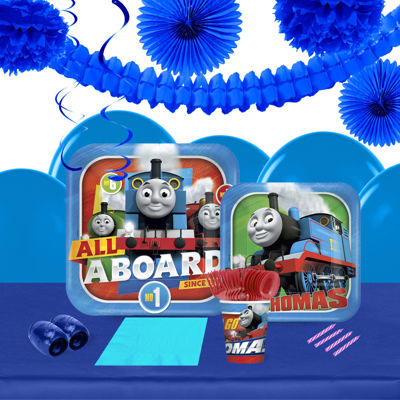 Thomas All Aboard 16 Guest Tableware & Deco Kit