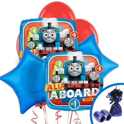 Thomas All Aboard Balloon Bouquet