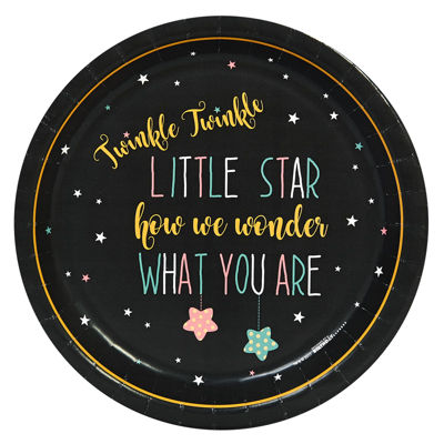 Twinkle Twinkle How We Wonder Dinner Plate