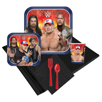 WWE Never Give Up Guest Party Pack