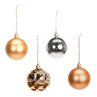 Metallic Ornament Assortment