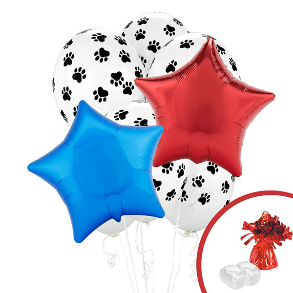 Paw Print Balloon Bouquet