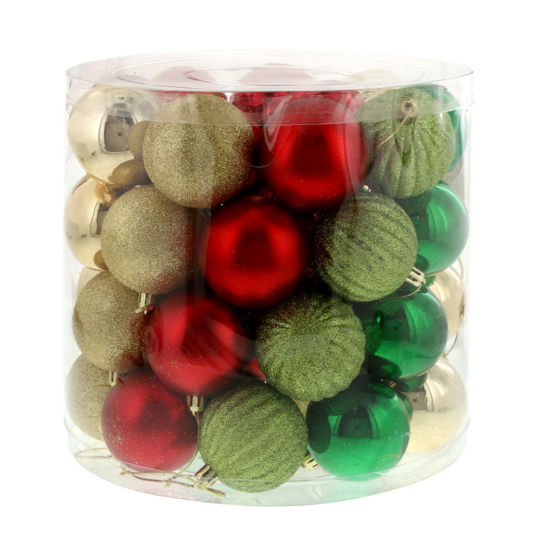 Traditional Holly Ornament Assortment