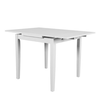 """CorLiving Dillon Extendable Dining Table with Two 8"""" Leaves"""