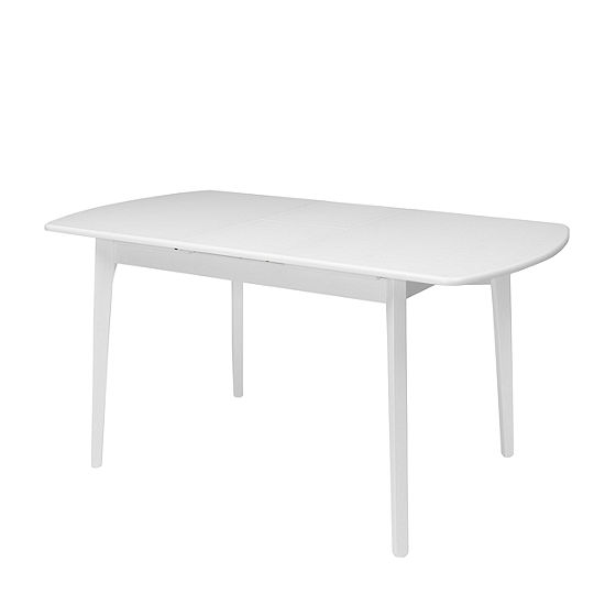 """CorLiving Dillon Extendable Oblong Dining Table with 12"""" Butterfly Leaf"""