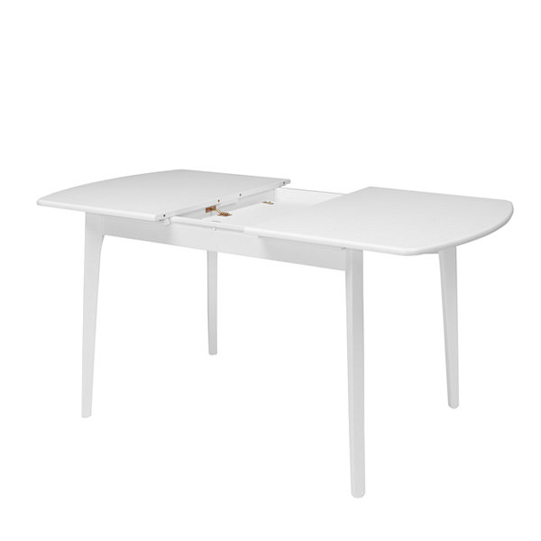 "CorLiving Dillon Extendable Oblong Dining Table with 12"" Butterfly Leaf"