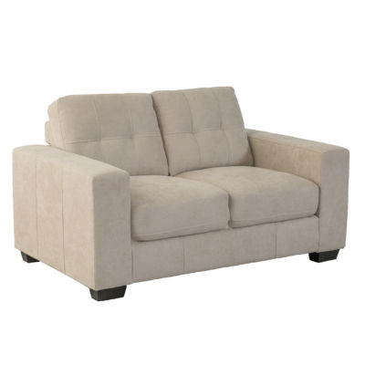 CorLiving Club Tufted Chenille Fabric Loveseat