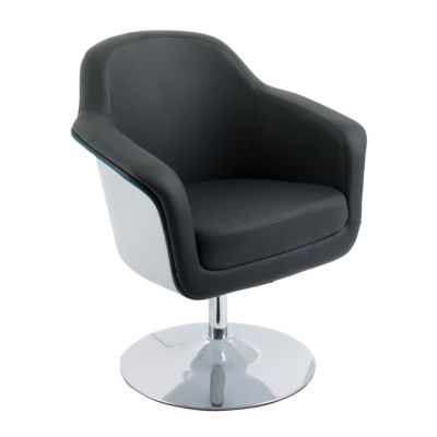 CorLiving Mod Modern Bonded Leather Accent Chair