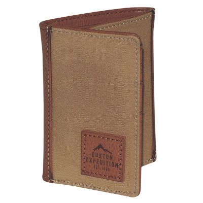 Buxton® Expedition Canvas Front Tri-Fold Wallet