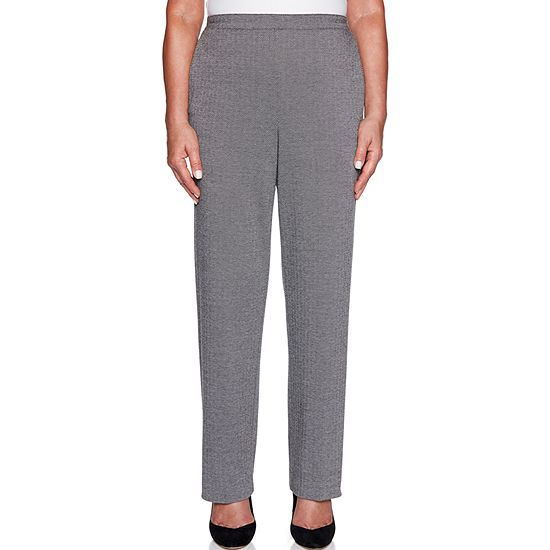 d8a9408102450d Alfred Dunner Grand Boulevard Womens High Waisted Straight Pull-On Pants -  JCPenney