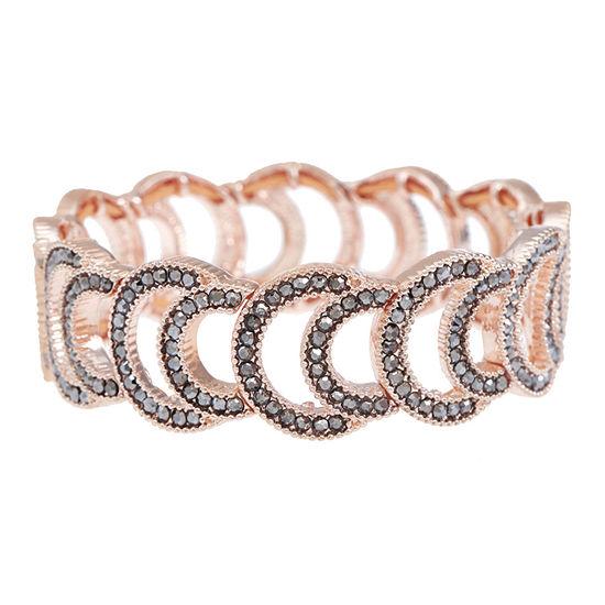 Liz Claiborne Gray Stretch Bracelet