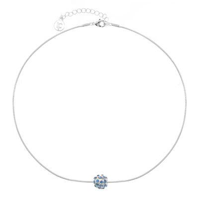Liz Claiborne Womens Blue Pendant Necklace