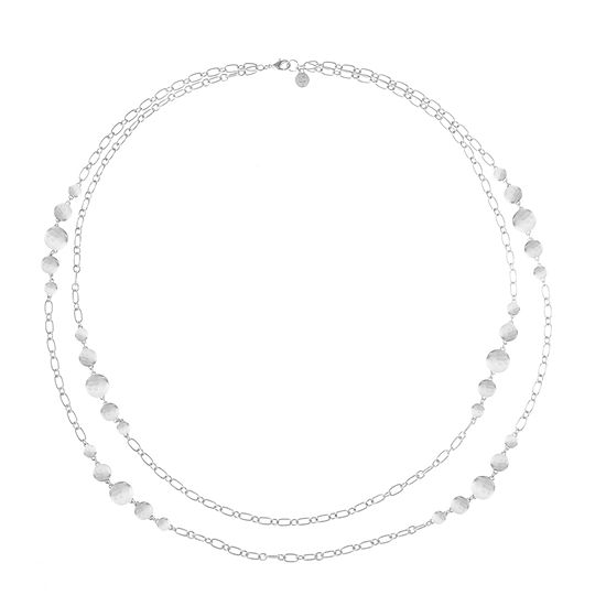 Liz Claiborne 34 Inch Link Strand Necklace