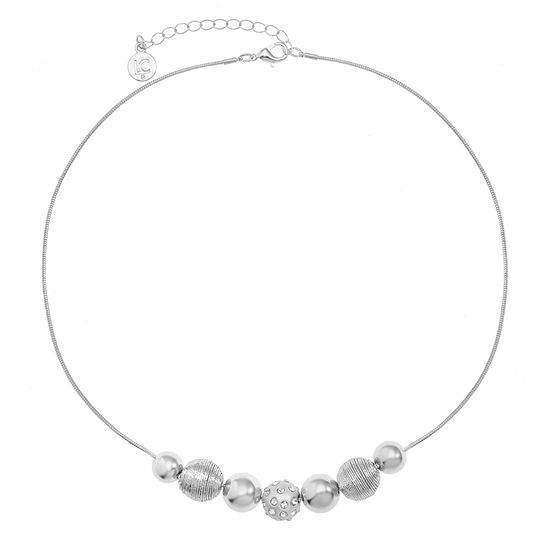 Liz Claiborne 17 Inch Snake Round Collar Necklace