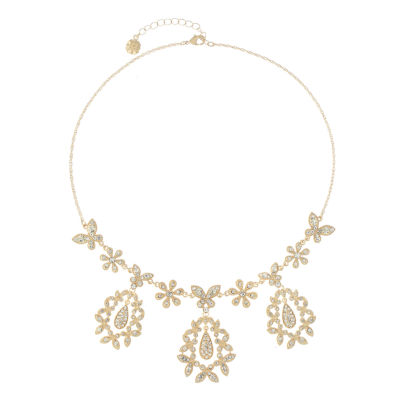 Monet Jewelry Womens Statement Necklace
