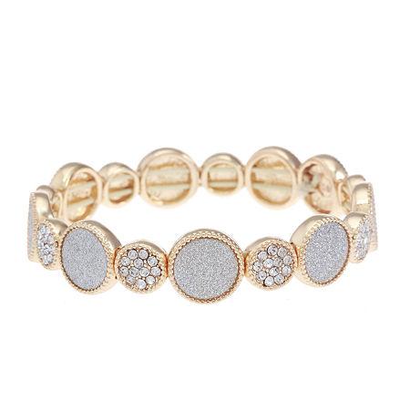 Monet Jewelry Stretch Bracelet, One Size , Pink