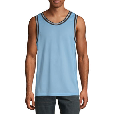 Arizona Mens Scoop Neck Sleeveless Tank Top