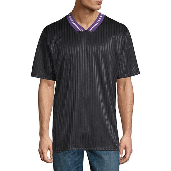 Arizona Mens V Neck Short Sleeve Jersey