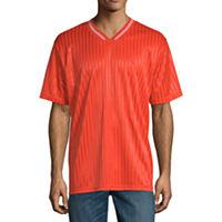 Deals on Arizona Mens V Neck Short Sleeve Jersey