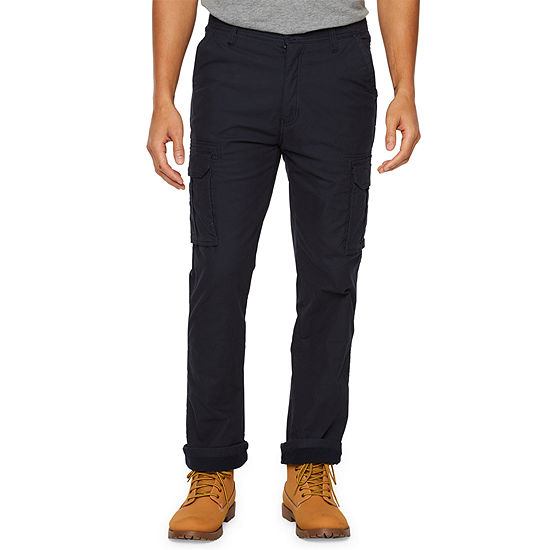 Smith's Workwear Stretch Fleece-Lined Canvas Cargo Pant