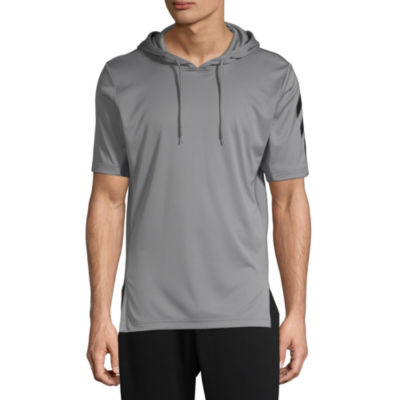 Adidas Sport Short Sleeve Hoody Mens - Athletic