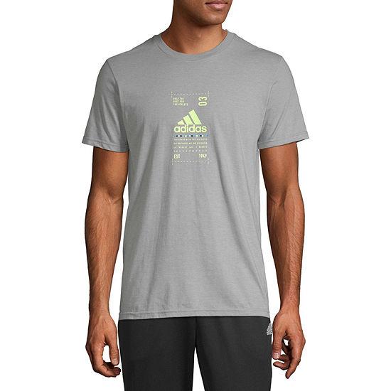 Adidas Mens Graphic T Shirt