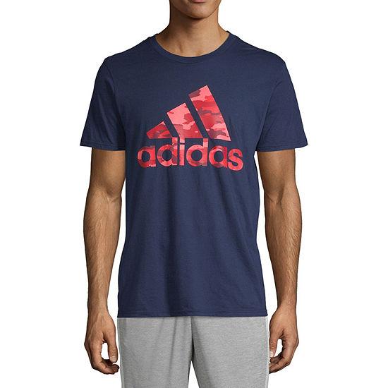 adidas Mens Camo Graphic T-shirt