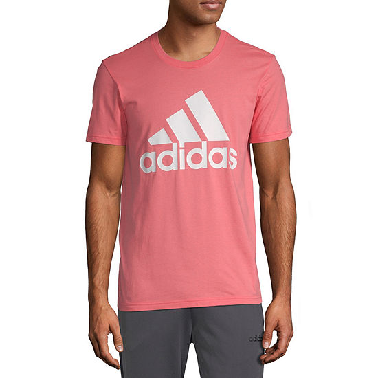adidas Adidas Bos Classic Tee Mens Crew Neck Short Sleeve Logo Graphic T-Shirt-Athletic