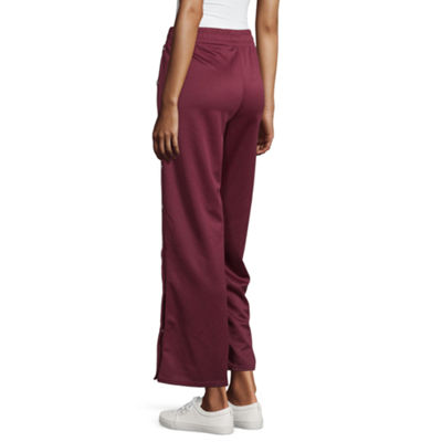 Us Polo Assn. Womens Low Rise Flare Sweatpant-Juniors