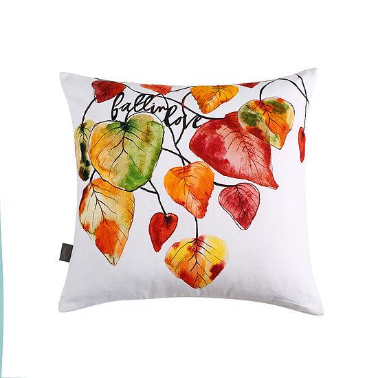 Sara B Holiday Square Throw Pillow