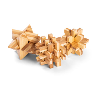 Totes 3PK Jumbo Wooden Puzzles