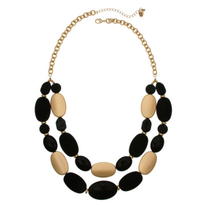 Erica Lyons Womens Beaded Necklace