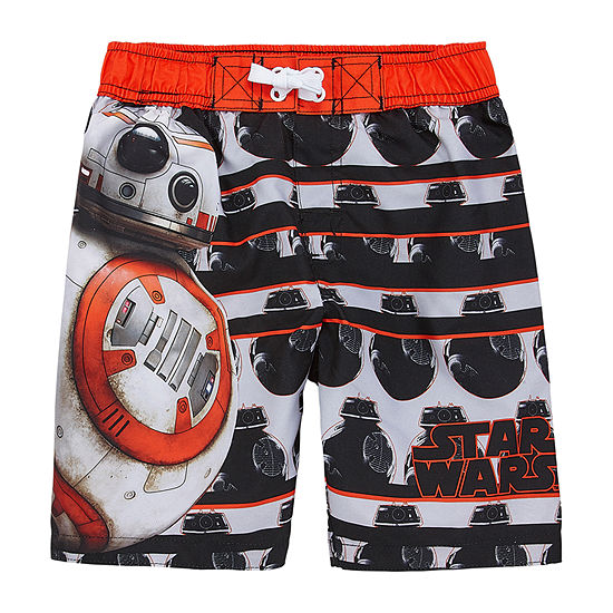 Boys Star Wars Swim Trunks Preschool / Big Kid