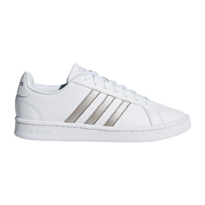 adidas Grand Court Womens Lace-up Sneakers
