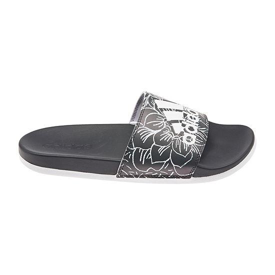 adidas Womens Adilette CF + Print Slide Sandals