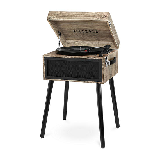 Victrola VTA-75 Bluetooth Record Player Stand with 3-Speed Turntable
