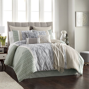 Jcpenney Home Jasper 10 Pc Comforter, Jcpenney Bed Sheets Queen