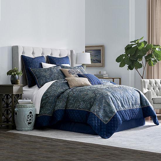 JCPenney Home Glenwood 7-pc. Jacquard Comforter Set