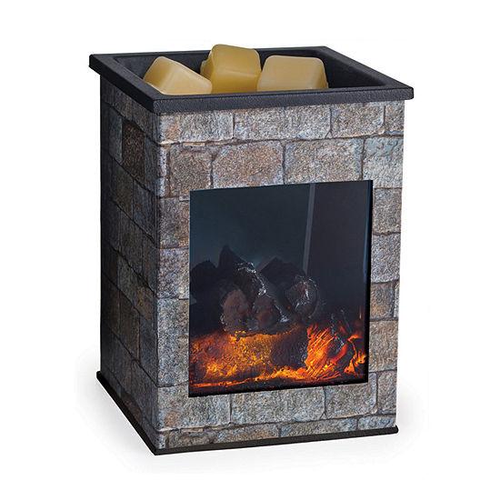 Candle Warmers Etc Hearthstone Glass Illumination Scent Warmer