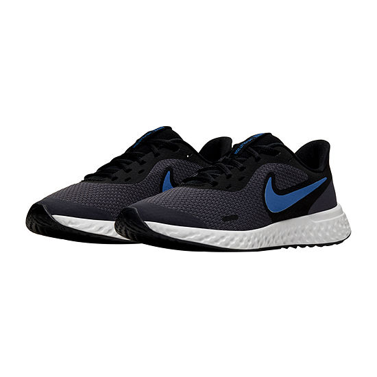 Nike Revolution 5 Big Kids Boys Running Shoes