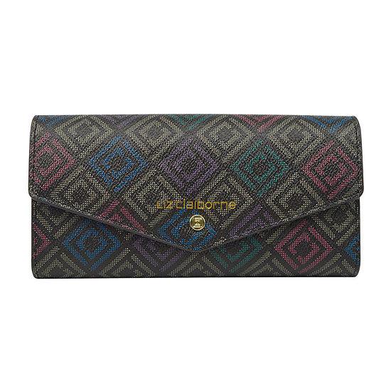 Liz Claiborne Envelope Clutch Wallet